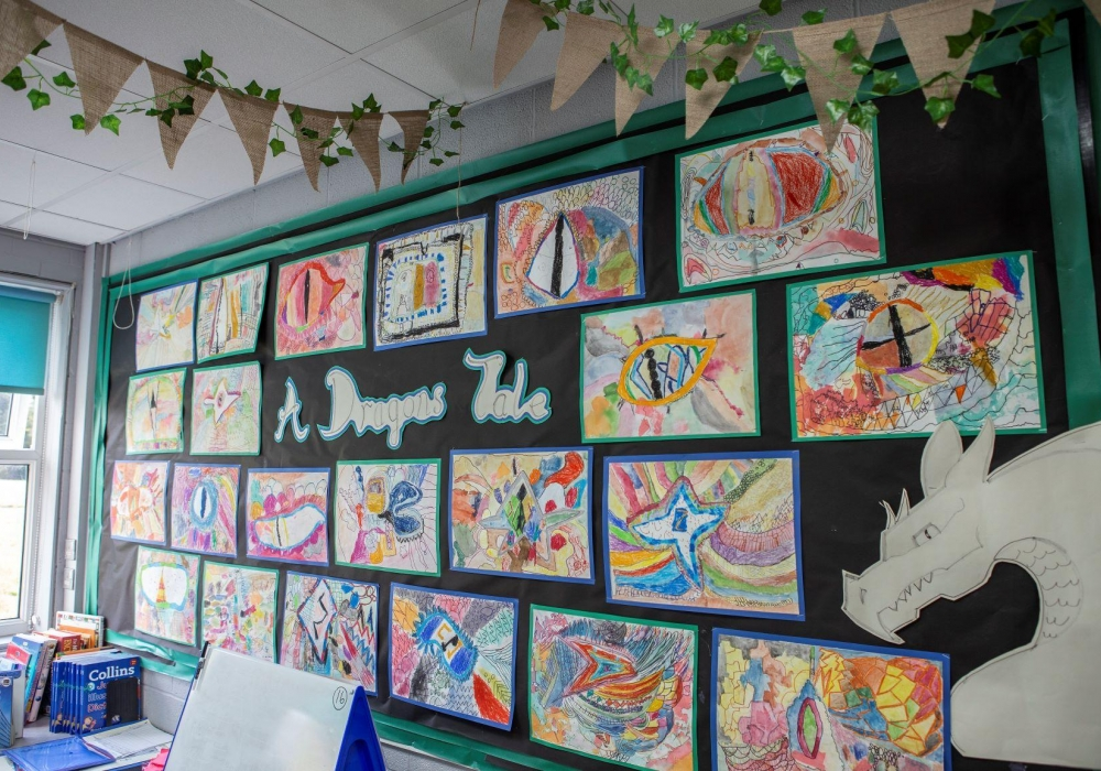 2 Millbrook10 artsmark display